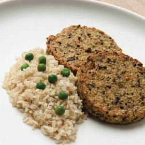 Hamburguesa de quinoa y arroz