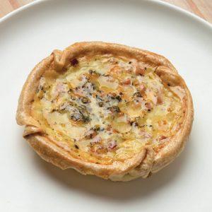 comida congelada: tarta jamon y queso